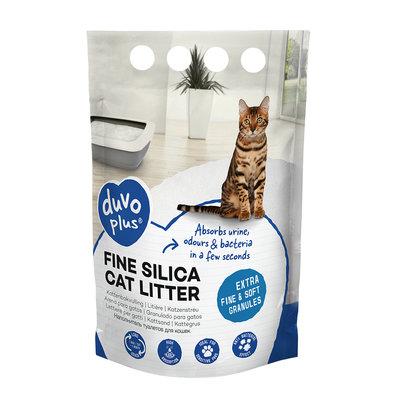 Duvo+ Extra Fijne Silica Kattenbakvulling 5 Liter