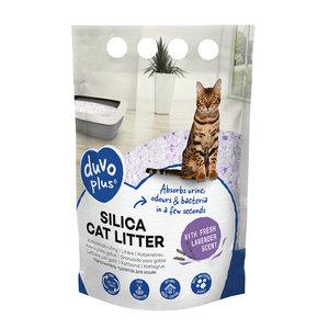 Duvo+ Silica Kattenbakvulling Lavendel 5 Liter