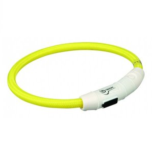 Trixie Flash Lichtring USB geel