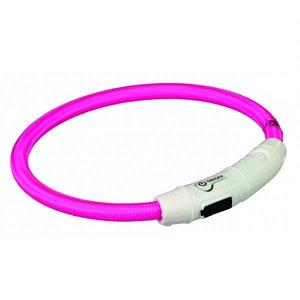 Trixie Flash Lichtring USB roze