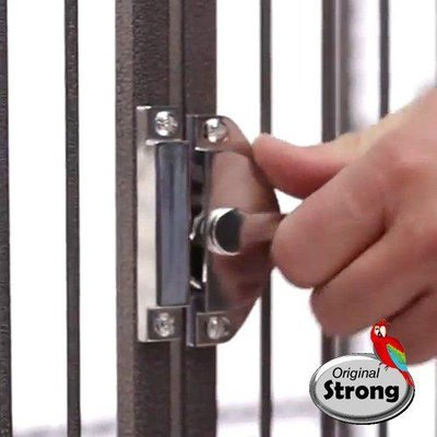Strong Papegaaienkooi Dahlia grijs