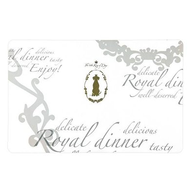 Trixie Placemat Kings of Dogs wit