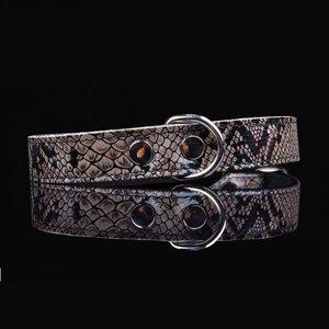 Pets Gifts Halsband Grey Snake