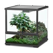 Aquatlantis Smart Line Terrarium zwart 45 x 45 x 45 cm