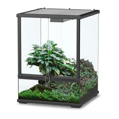 Aquatlantis Smart Line Terrarium zwart 45 x 45 x 60 cm