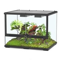 Aquatlantis Smart Line Terrarium zwart 60 x 45 x 45 cm