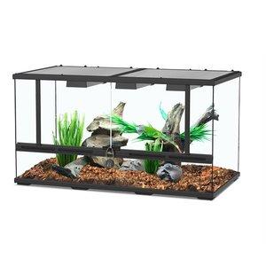 Aquatlantis Smart Line Terrarium zwart 88 x 45 x 45 cm