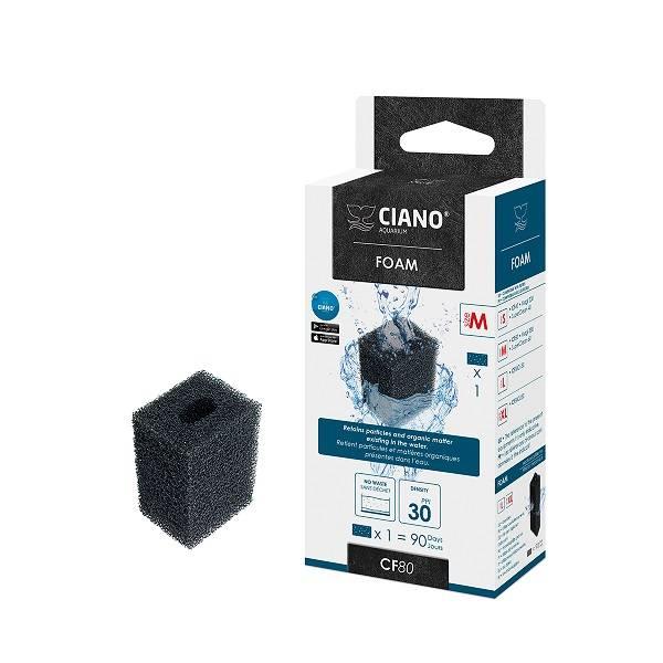 Ciano CF80 Filter Patroon foam zwart