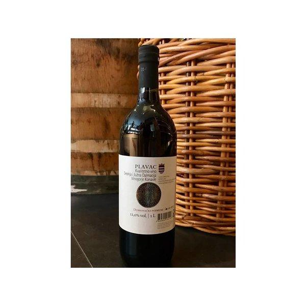 Een Plavac van de grootste wijnmakerij in Zuid-Dalmatië.