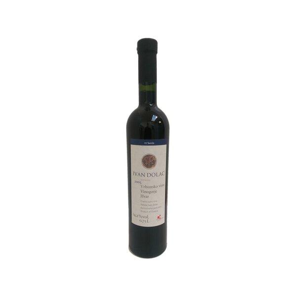 Biologische wijn geteeld in de Grand Cru wijngaard van Ivan Dolac