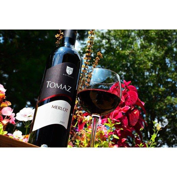 Uitgeroepen tot de beste Merlot van Istrië - Met 4 sterren bekroond door PERSWIJN!