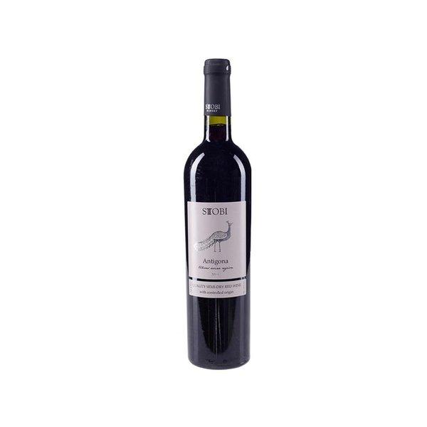 Stobi Antigona, een halfdroge rode wijn van uitstekend niveau!