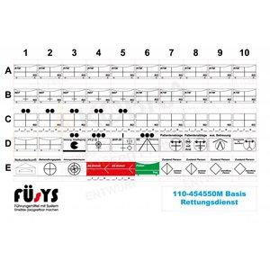 FÜsYS Basis-Set Rettungsdienst 50 Zeichen