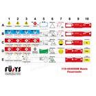 FÜsYS Basis-Set Feuerwehr 50 Taktische Zeichen
