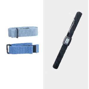 Sleep Sense Piezo Crystal Effort Sensor KIT- Velcro Tab, Safety DIN Con.