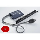 Unimed Inflation system with reusable cuff,  adult  27.5-36.5cm, 5pc/pck