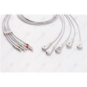 Unimed 5- lead ECG DIN Unshielded Leadwire, SNAP