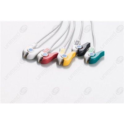 Unimed 5-lead One Piece Cable, GRABBER, Colin Omron, BP88-BP306
