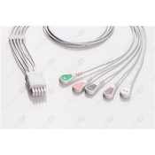 Unimed 5- lead ECG Leadwire, SNAP,Datascope/Mindray