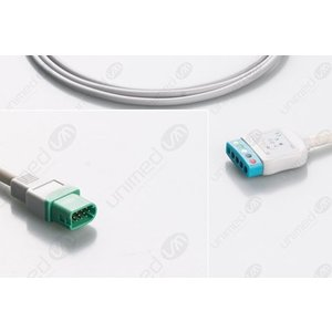 Unimed 5-lead Din Trunk Cable, Datascope/Mindray