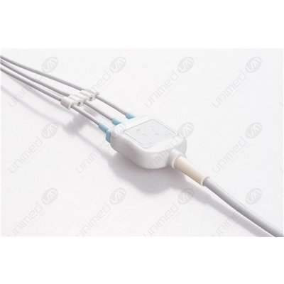 Unimed 3-lead One Piece Cable SNAP, Mindray