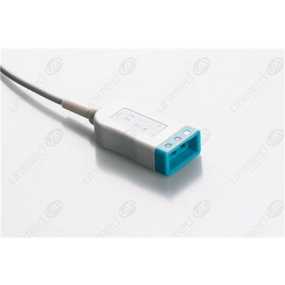 Unimed 3-lead ECG Trunk Cable, Philips/HP