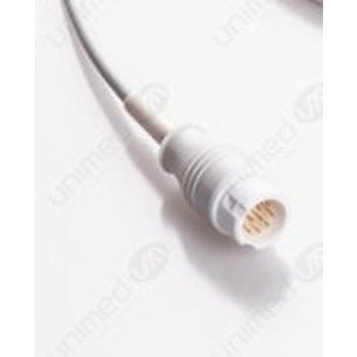 Unimed 3-lead One Piece Cable, GRABBER, Philips / HP