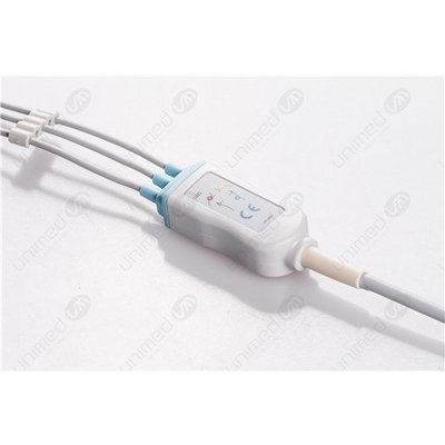 Unimed 3-lead One Piece Cable SNAP, Philips / HP
