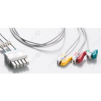 Unimed 3-lead ECG Leadwires, GRABBER, Siemens
