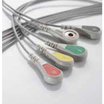Unimed 5-lead ECG Leadwires, SNAP, Siemens