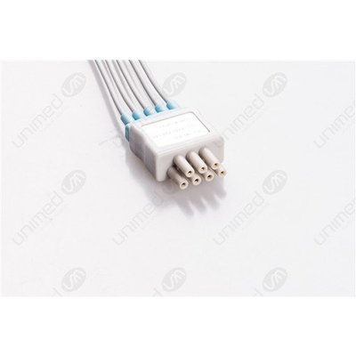 Unimed 5- lead ECG Telemetry Cable, SNAP, Mindray