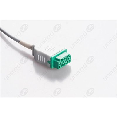 Unimed 3-lead  One Piece Cable, GRABBER, GE/ Marquette