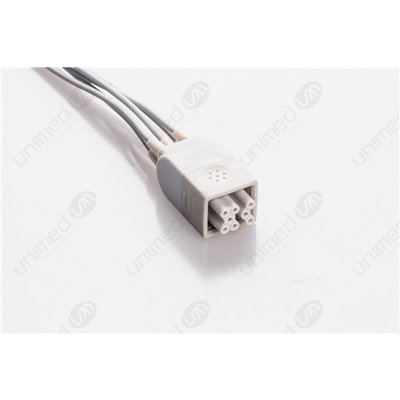 Unimed 5- lead ECG Telemetry Cable, GRABBER, GE Healthcare