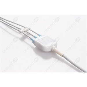 Unimed 3-lead One Piece Cable, SNAP, Siemens - Schiller
