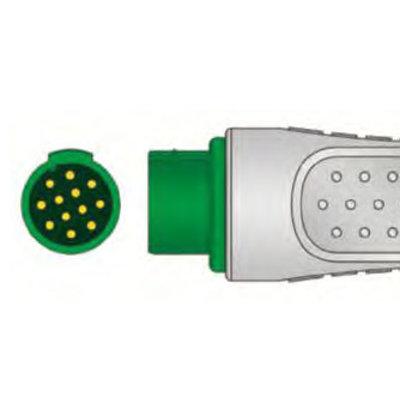 Unimed 3-lead Din Trunk Cable,  Siemens - Schiller