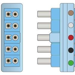 Philips Twin Pin (AA Style)