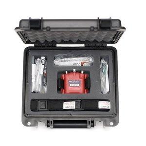 Braebon MediByte kit: 12-channel Level 3 HST Recorder,  RIP belts,  SpO2 probe,  accessories for 6 patients