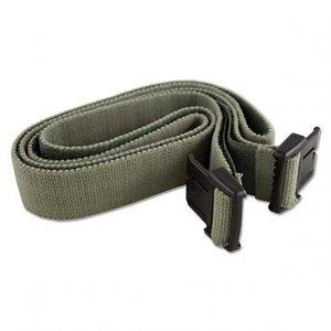 Braebon Velstretch Buckle Belt, 120cm, Green