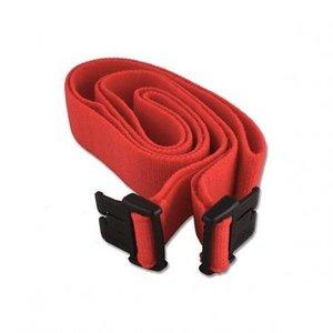Braebon Velstretch Buckle Belt, 150cm, Red