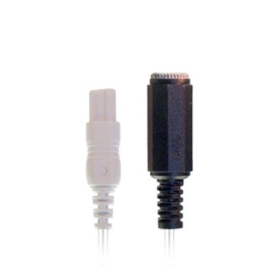 Braebon Dual 1mm (keyhole) connector to 3.5mm female phone connector, 45cm cable