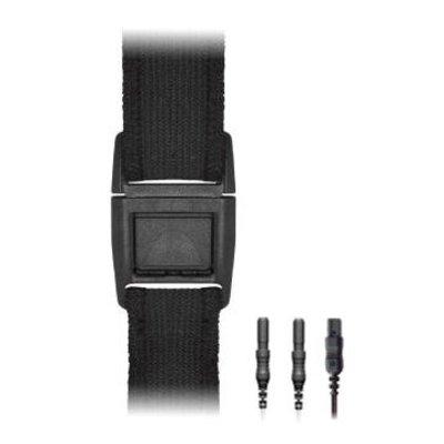 Braebon Adult XL MediByte RIP Effort Belt, Adjustable 120-180cm, Output Cable 30cm incl.