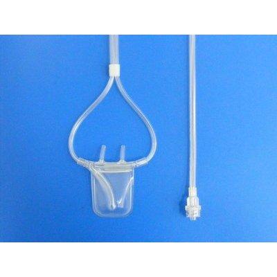 Sleep Sense Adult Nasal/Oral Pressure Monitoring Cannula with cupped oral prong, 60cm, 50Pcs/Box