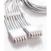 Unimed 10-lead EKG integrated Leadwires, Snap, GE Multi-Link