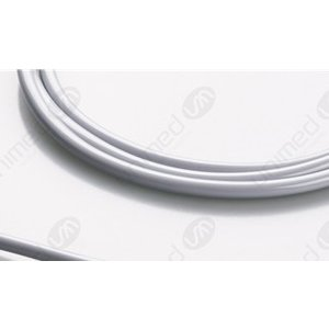 Unimed Air Tube, Adult/Pediatric, Single Tube, Ø 3.50mm, light grey