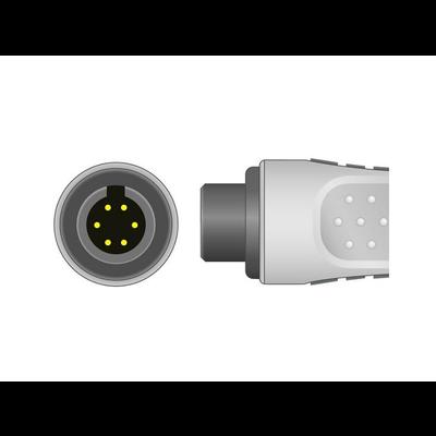 Unimed 3-lead ECG Leadwires, SNAP, Philips/HP, Welch Allyn