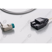 Unimed 10-lead Din Trunk Cable,  Medtronic-Physiocontrol