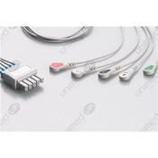 Unimed 5-lead  ECG Leadwires, SNAP, Mindray