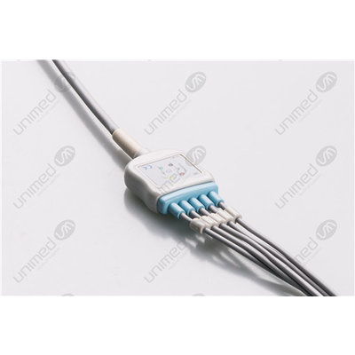 Unimed 5-lead One Piece Cable SNAP, Mindray