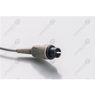 Unimed 5-lead ECG One Piece Cable, GRABBER,  Mindray