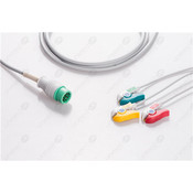 Unimed 3-lead One Piece Cable GRABBER, Mindray